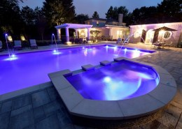 What kind of pool features can you add to an inground pool?